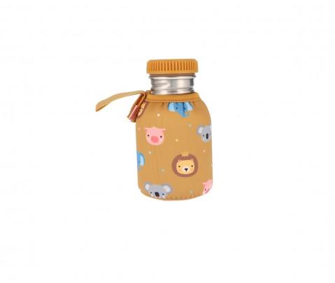 Botella acero con funda Animal Friends 350 ml