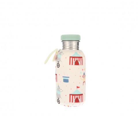 Botella acero con funda Circus 500 ml