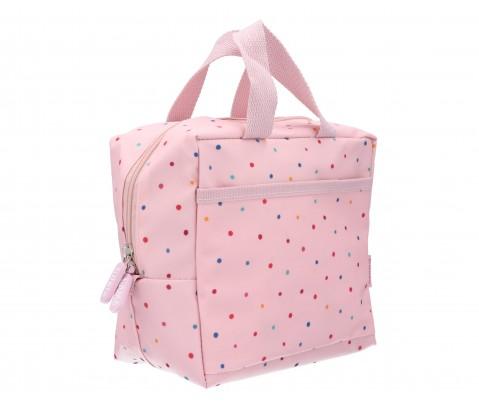 Bolsa merienda térmica Pink Dots