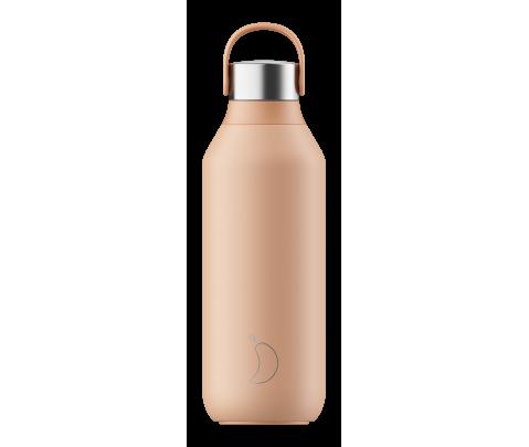 Botella Isotérmica 500 ml Chilly´s Serie 2 Peach