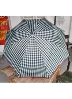 Paraguas Cuadros Vichy Verde