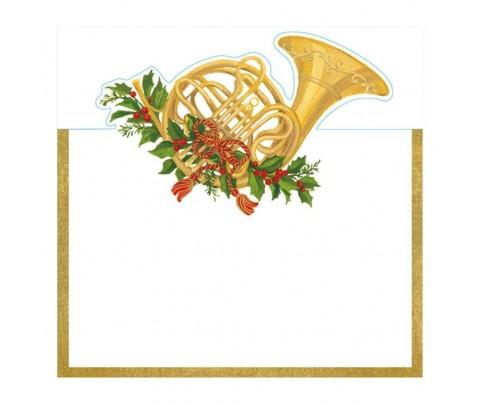 8 marcadores de mesa French Horn