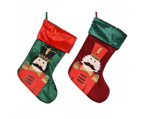 Set 2 calcetines soldado cascanueces
