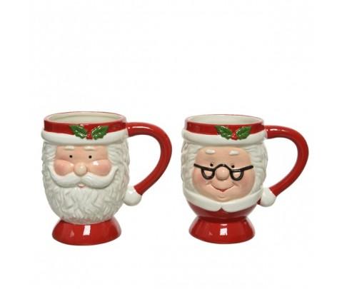 Set 2 mug matrimonio Noel