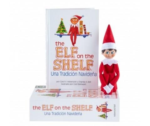 The Elf on the Shelf Muñeco Elfo Niño con cuento