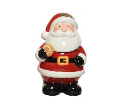 Galletero cerámico Papa Noel 26 cm