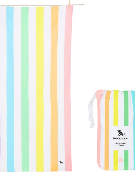 Toalla Dock and Bay Summer Rainbow XL (200*90 cm)