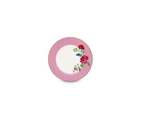 Plato Rose Pink Floral 26,5 cm