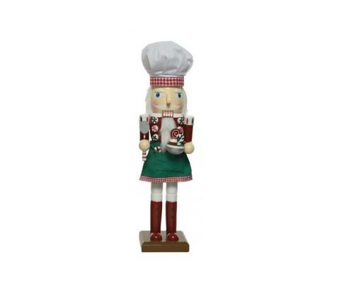 Cascanueces cocinero 25 cm