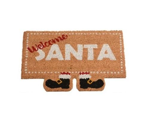 Felpudo Welcome Santa 40x60 cm