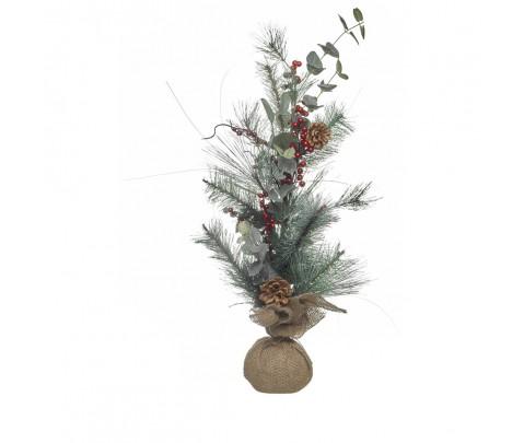 Centro navideño ramas 70 cm