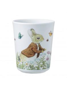 Vaso Peter Rabbit y amigo