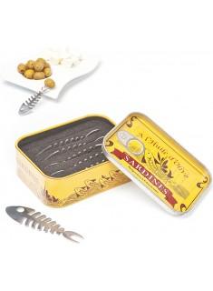Tenedor aperitivo Sardines x6 lata