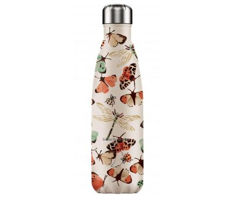 Botella Isotérmica Inox 500 ml Chilly´s Mariposas