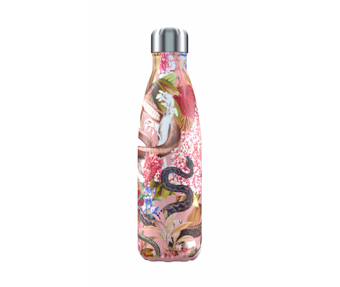 Botella isotérmica inox 500 ml Chilly´s Tropical Serpiente