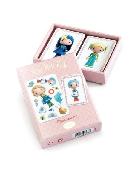 Tinyly Mini Méli-Mélo juego de cartas