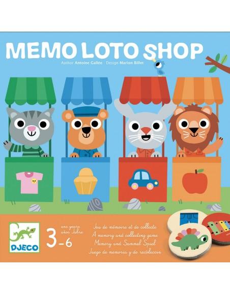 Juego Memo Loto Shop