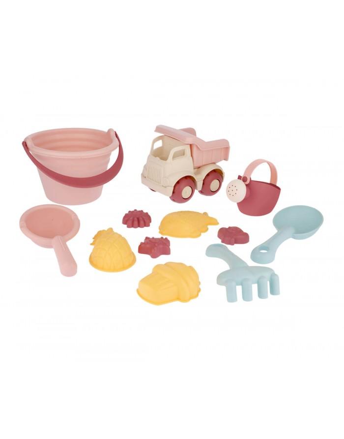 Set de juguetes de playa Nordic Magenta