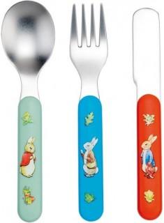 Set 3 cubiertos Peter Rabbit
