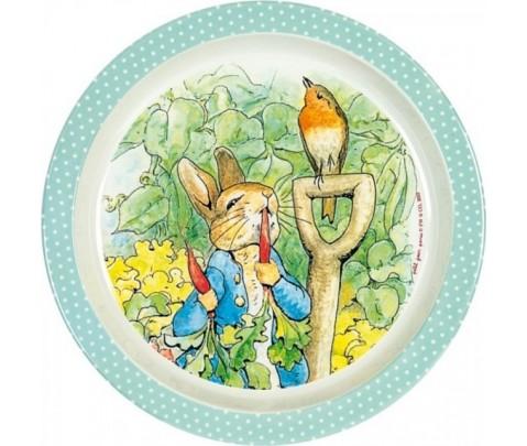 Plato Peter Rabbit borde lunares