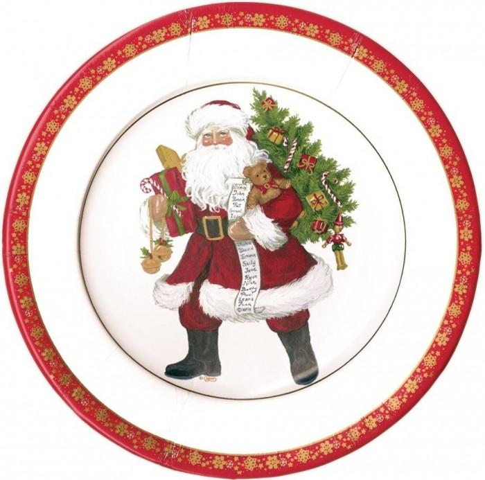 Utensilios para mesas de Navidad